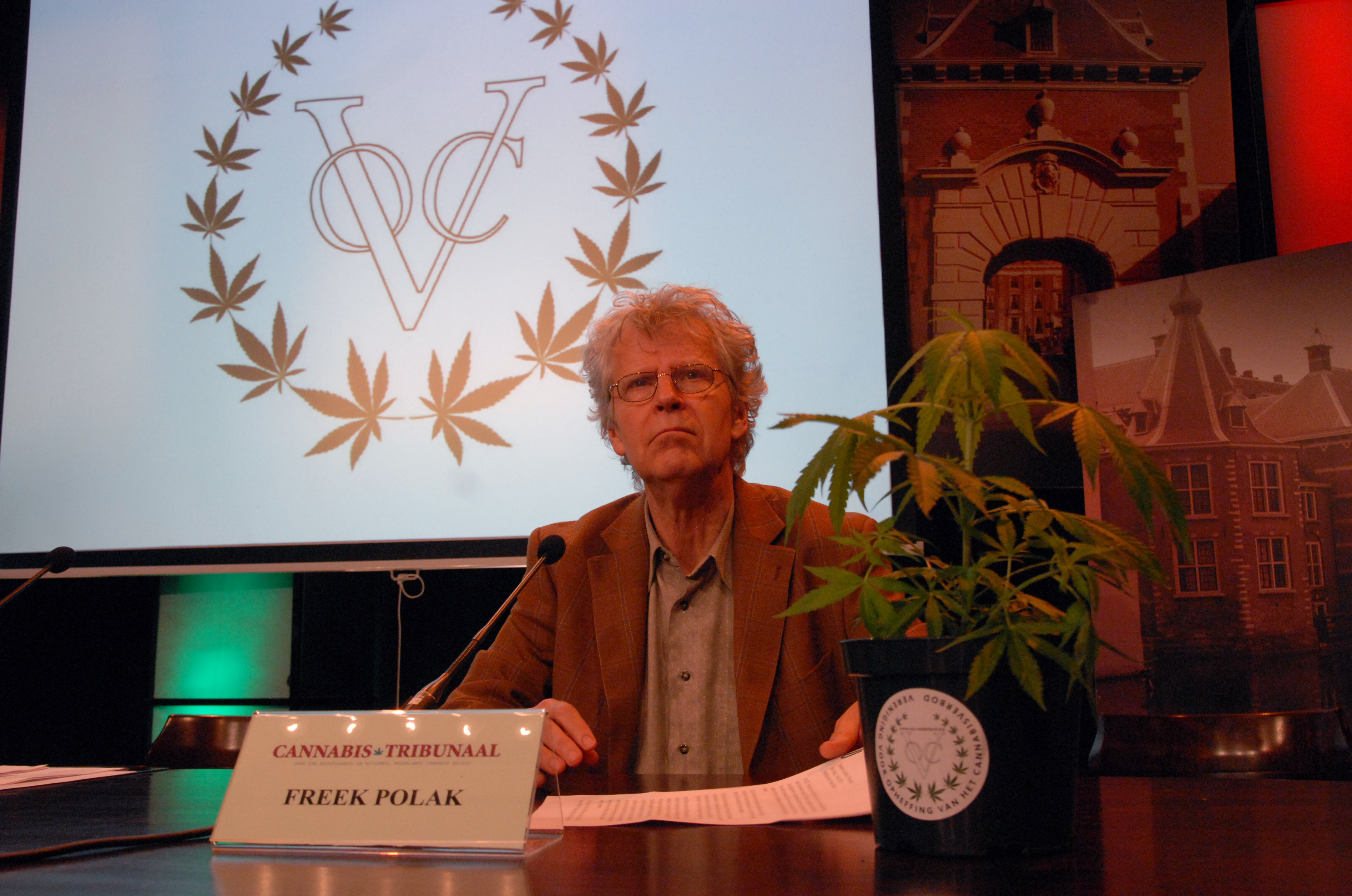 Freek Polak (Stichting Drugsbeleid, ENCOD & VOC)